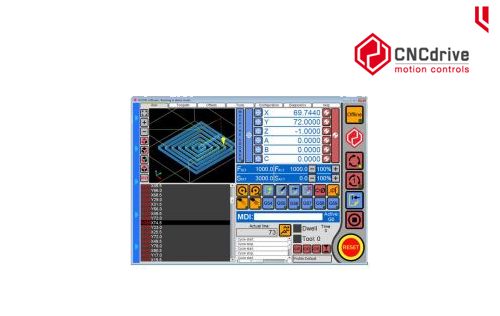 CNCdrive software