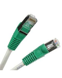Network cross-cable double shielded 10 feet / 3m