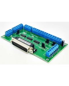C10 -  BI-Directional Parallel Port CNC Breakout  Board