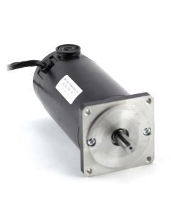 NEMA34 1125oz/in Dual Shaft Servo Motor 34-180-90, SKEWED ROTOR DESIGN