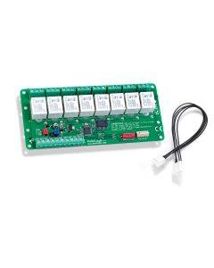 CAN relay - PoRelay8 - Relay extension board with CAN bus 12V