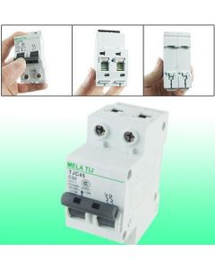 AC 400V 32A DIN Rail Mount Circuit Breaker Protector 2P