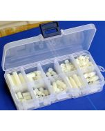 A58 - Nylon Hex Spacer/ Screw/ Nut Assorted Kit, Stand-off